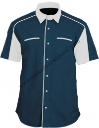 F18001 (Navy blue / White)