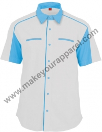 F18030 (White / Light blue)